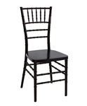 STEEL CORE Black Discount Resin Chiavari Chairs