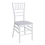Cheap White  Discount Resin Chiavari Chair