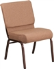 "Gray 21"" Chapel Chair"