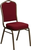 "<span style=""FONT-SIZE: 12pt"">Burgundy Solid 2.5"" Cushion Chair</span>"