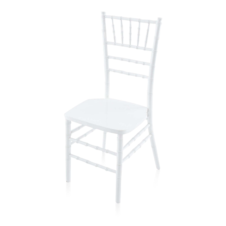 Cheap White Chiavari Wood Chair