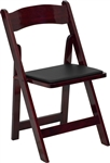 MAHOGANY WOOD FOLDING CHAIRS CHEAP PRICES