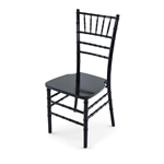 Cheap  Black Discount Resin Chiavari Chair