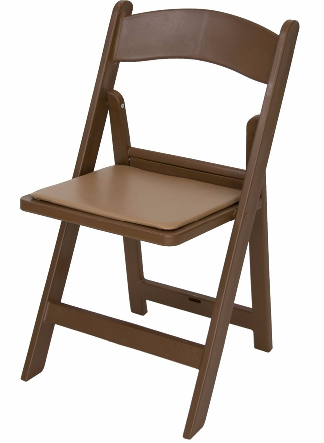 Swell Free Shipping Brown Resin Folding Chair Squirreltailoven Fun Painted Chair Ideas Images Squirreltailovenorg