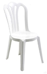 Cafe Vienna Chairs are Comfortable and Beautiful to Look At. Made from a Single Piece of Injection molded, talc filled polypropylene. A Wonderful Chair for Outdoor Wedding or Special Events. Wholesale Special Prices.