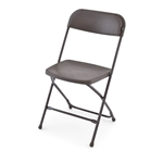 Wholesale Brown Poly Chairs, Discount plastic folding chairs