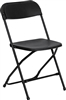 Discount Prices Black Poly Folding Chair