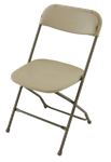 FREE SHIPPING CHAIRS Folding stacking chairs, White Plastic White Chairs, CALIFORNIA