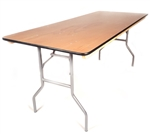 DISCOUNT PLYWOOD TABLES - FOLDING BANQUET WOOD TABLES