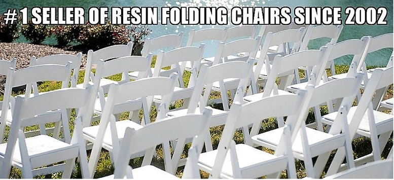 Cheap Resin Folding White Chair