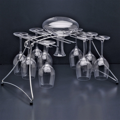 Fusion 16 Stemware & Decanter Rack