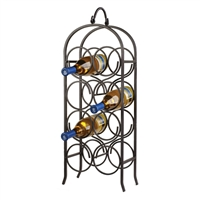 Wine Arch 8-Bottle Floor Rack
