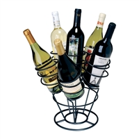 6-Bottle Bouquet, Black