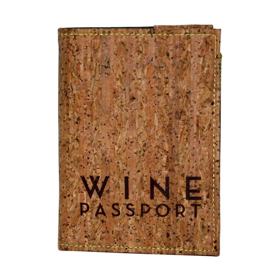 Wine Passport W Cork Cover