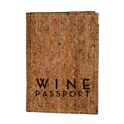Wine Passport W/ Cork Cover