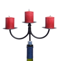 Afterglow 3 Pillar Candelabra