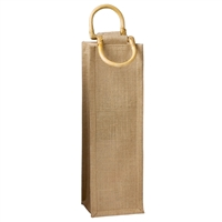 Jute Vino-Sack, One Bottle