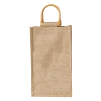 Jute Vino-Sack, Two Bottle