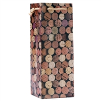 Wine Gift Bag, Corks