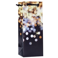Wine Gift Bag, Bright Lights