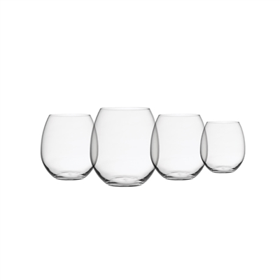Shatterproof Stemless Drinkware, Set of 4