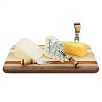 Multi Stripe Cheese Board