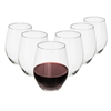 Perfect Stemware, Stemless Wine Glass Set of 6