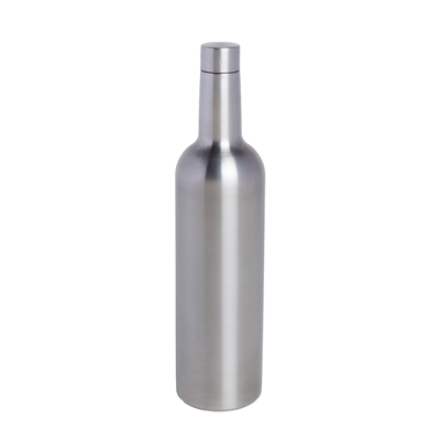 Wine Bottle Flask, Stainless