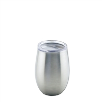 Apollo Cup 8 oz  W/ Lid, Stainless Steel