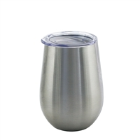 Apollo Cup 12 oz  W/ Lid, Stainless Steel