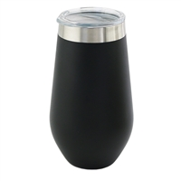 Apollo Cup 16 oz  W/ Lid, Black