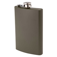 Flask, 8 oz Army Green
