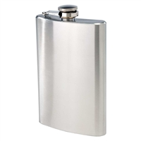 Flask, 8 oz Stainless Steel