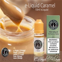 This yummy e liquid is a fantastic vape all by itself but makes the perfect mixer with so many other e liquid flavors. Put in your Coffee or Cappuccino, or add a few drops to your Waffle flavored e liquid.