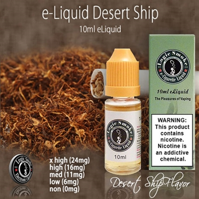 Rich tobacco cigarette, Desert Ship flavor