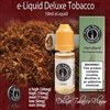 Fill your favorite e cigarette with our Deluxe Tobacco flavored e liquid and start enjoying today. Mix it up a bit by adding in some of our other e liquid flavors like Menthol or Mint.
