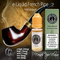 Luxurious Pipe Tobacco Flavor.