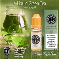 Soothing and Earthy Green Tea.