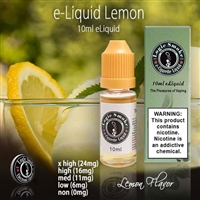A freshly picked lemon ready for you to vape!