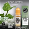 Our Menthol e liquid will give you fat vapor full of flavor and a throat hit that will surely please.