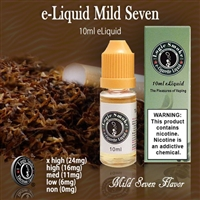 A lovely tobacco flavor that, when vaped in your favorite e cigarette device, will bring your hours of voluptuous flavorful vapor. Add a few drops of Mint or Menthol for a cool refreshing kick.