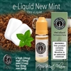 Try our New Mint flavored electronic cigarette e liquid. It has the bold menthol flavor you crave, an awesome throat hit and just an underlying taste of tobacco.