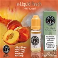This refreshing taste will leave you wanting for nothing. The aroma and fat vapor are top notch. Try vaping alone for a stand alone peach vape or mix with other fruity flavors for a exceptional taste sensation.