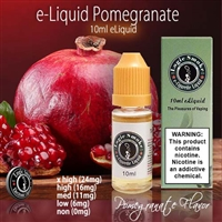 A deep, fruity Pomegranate Flavor.
