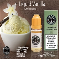 It is one of our top selling flavors and will always be a wonderful all day vaping choice. Pick up a bottle of our Vanilla E liquid today and reward your taste buds.