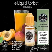 Our apricot e cigarette liquid tastes so natural you will be convinced you are eating the real thing. From the very first hit you take, you will be able to taste the tang in the back of your throat while the sweetness comes through on your taste buds.