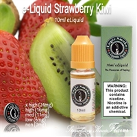 Skip the expensive smoothie joint and tantalize your taste buds with this fruity vapor e liquid blend of fresh strawberries and plump, tropical Kiwi fruit.