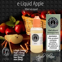 Its pure pleasure when vaping Apple flavored e liquid in your favorite vaping unit. Load it up with just Apple e-liquid or mix it up by adding in another flavor, to take it up a notch.