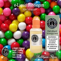 Minty, refreshing Bubblegum Vape Juice.