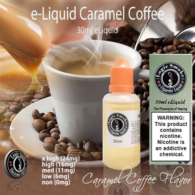Rich coffee with a sweet caramel twist!